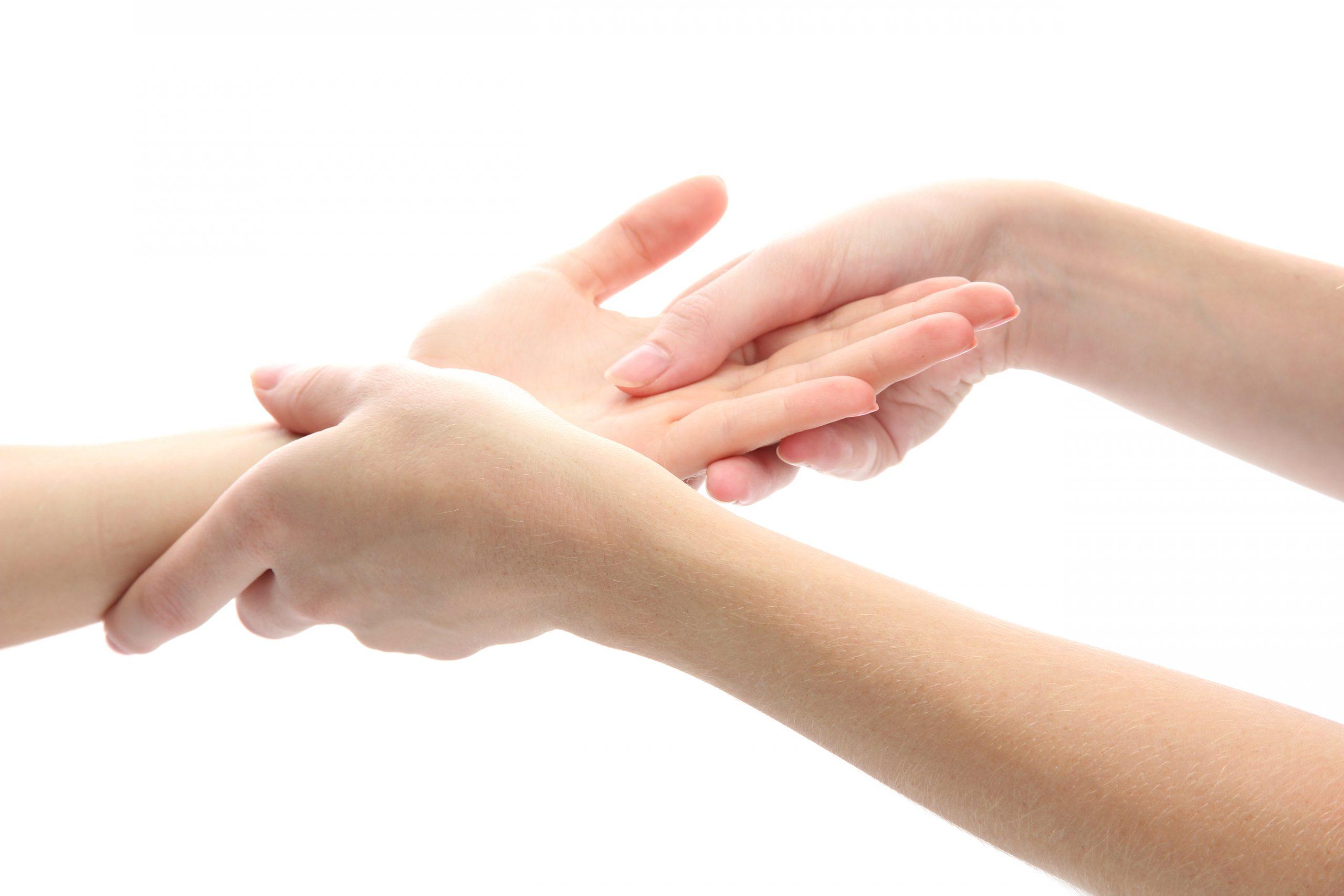 photo mains massage point
