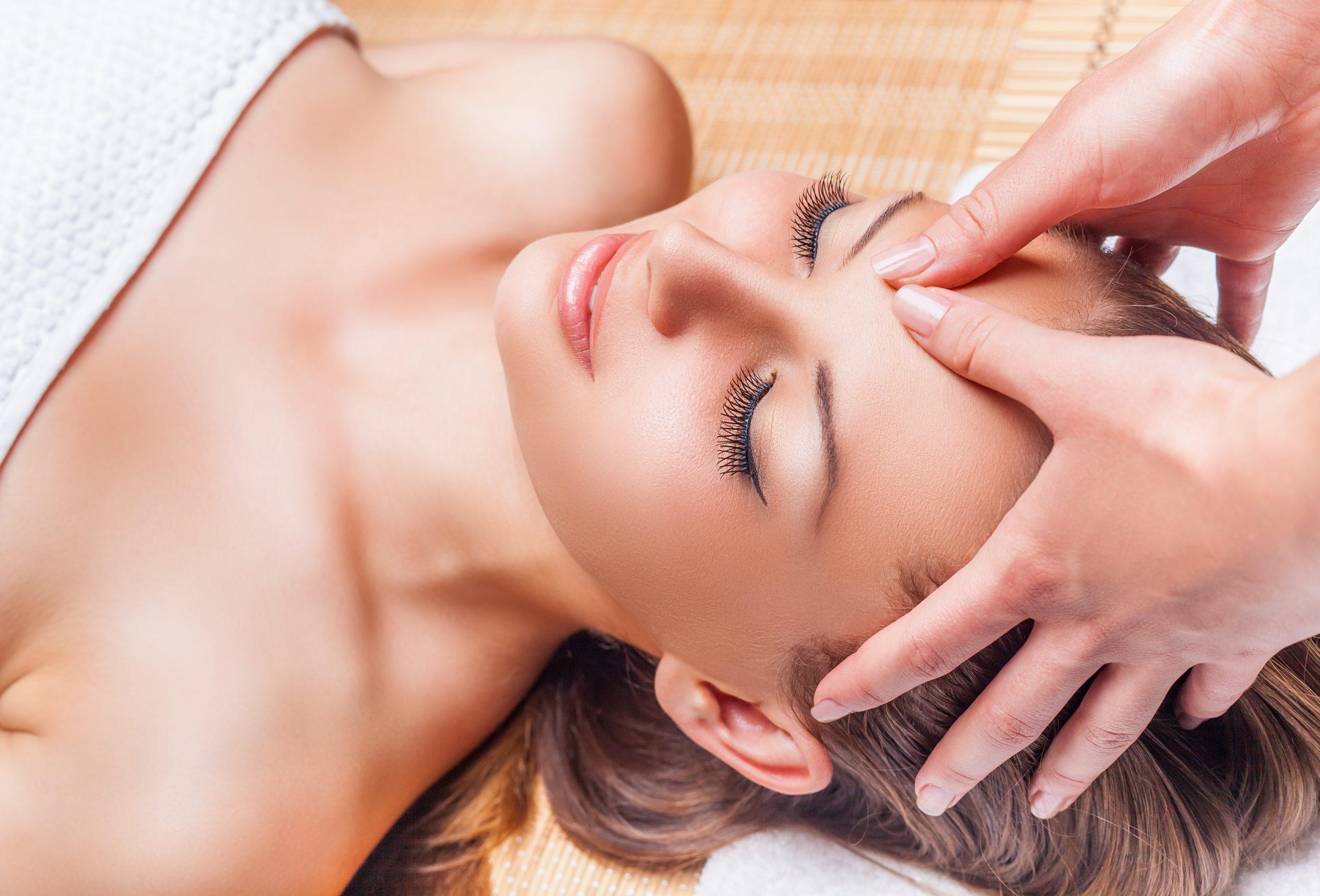 photo visage massage